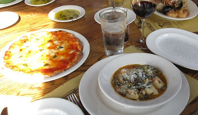 Dishes from Trattoria Lisina,Annieinaustin