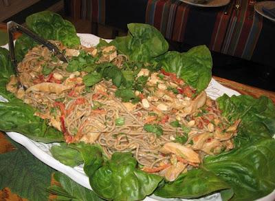 DivasoftheDirt,soba ginger salad