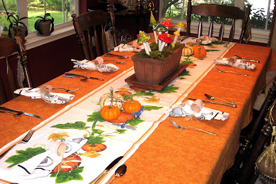 DivasoftheDirt,Buffy Autumn table