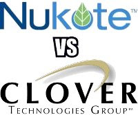 NuKote vs. Colover Logos