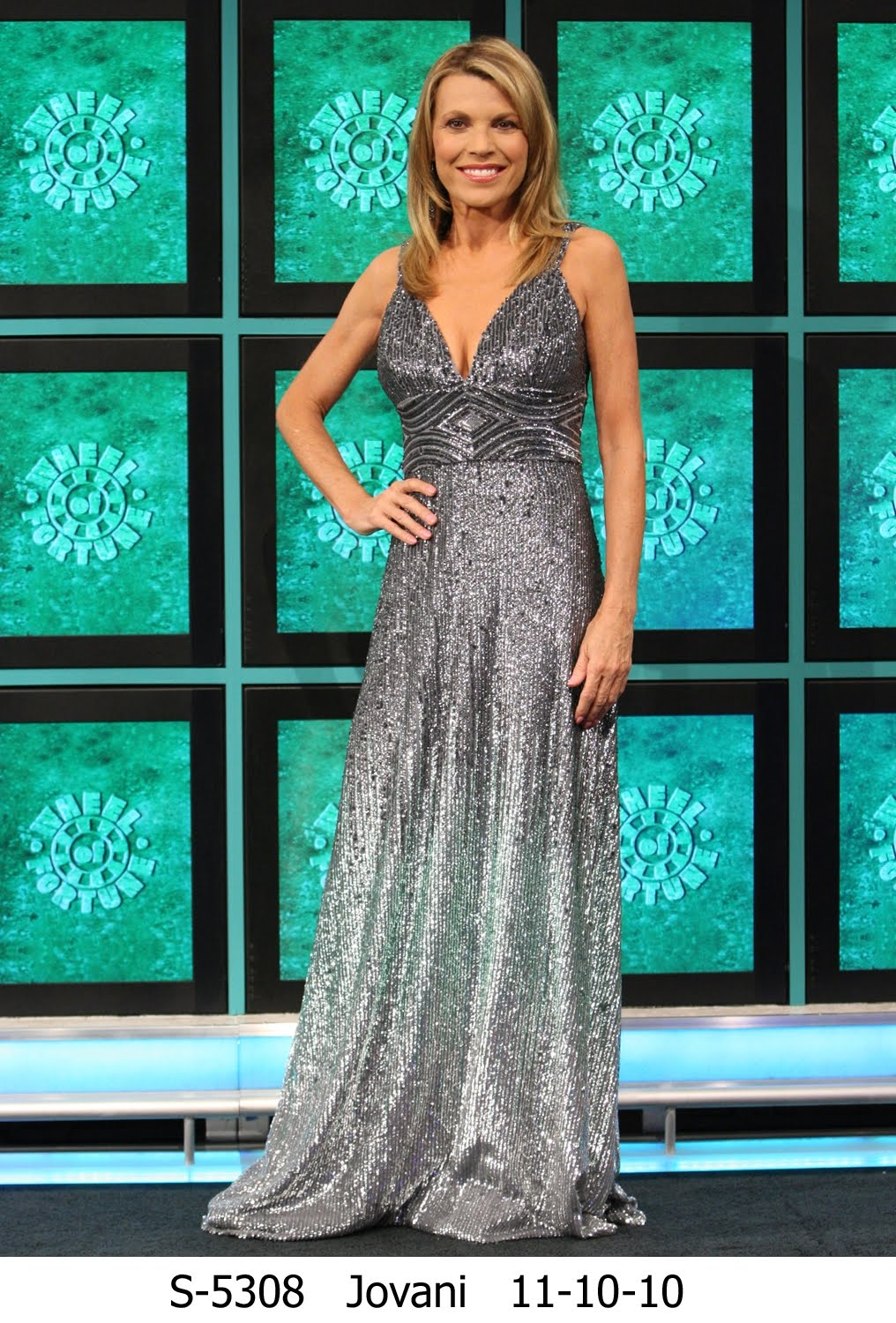 Jovani Fashions Blog: Look out for Vanna White in Jovani!