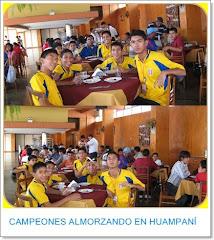 CAMPEONES EN HUAMPANÍ