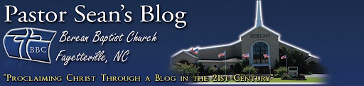 Pastor Sean's Blog