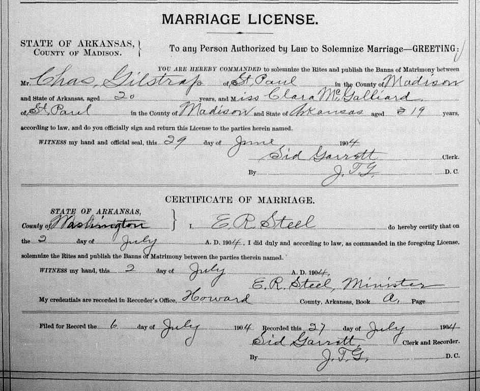 Recorded marriage licenses porter county indiana