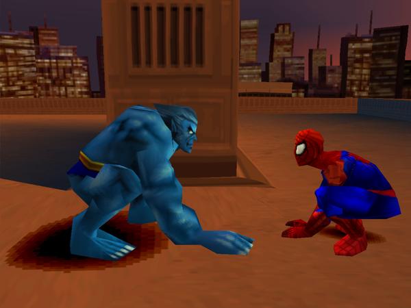 Spiderman 2 PSX [Portable] [Userscloud]