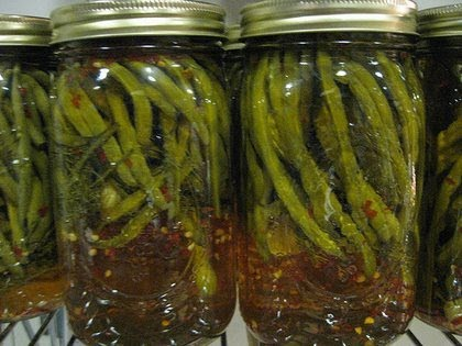 Recipes for pickling green beans asparagus