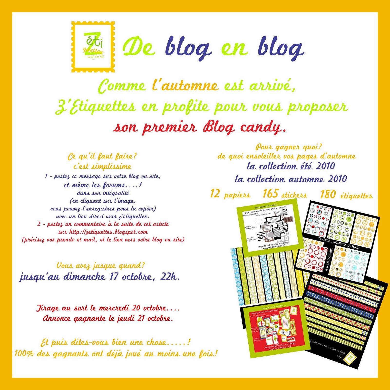Blog Candy Zetiquettes