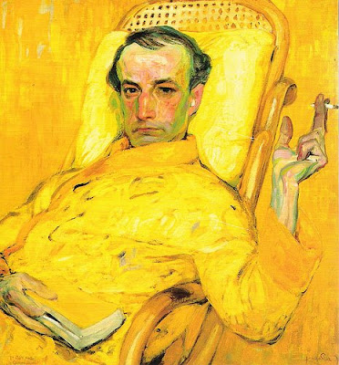 The Yellow Scale by Franz Kupka