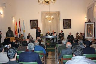 Ingreso de Gustavo Sorg a la Academia Paraguaya de la Historia