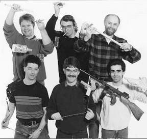 Ian Tregonning; Toby Philpott; Christopher Leith -               (bottom row) Geoff Felix, David Barclay, Mike Quinn