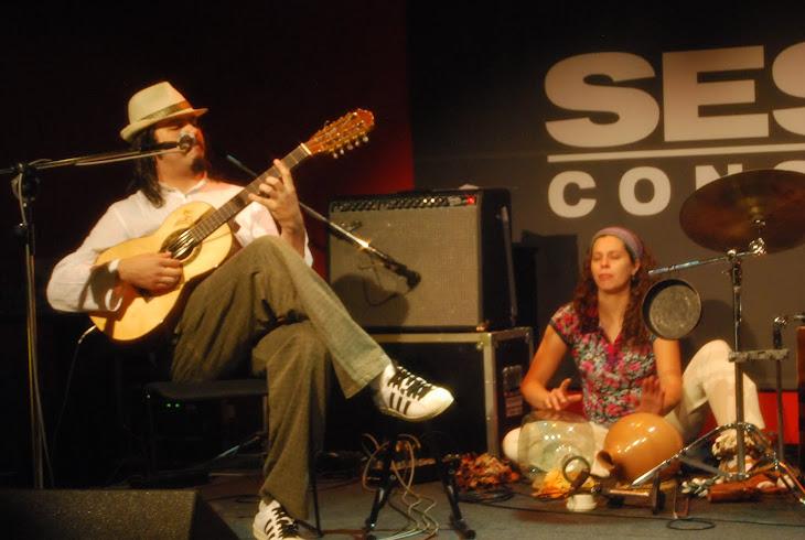 Show de Dani Lasálvia no Sesc Consolação em 30?09/2010