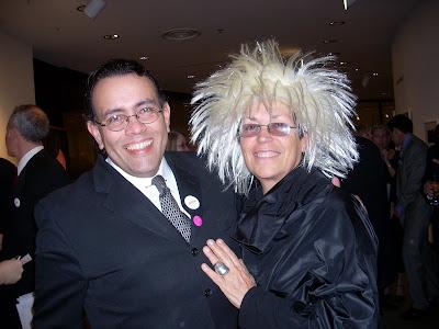 Lenny Campello and Mera Rubell