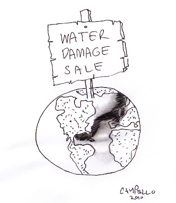 BP oil spill cartoon by Campello