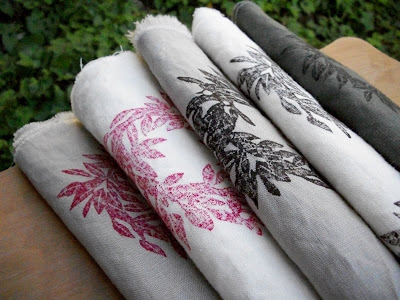 weathered silo's blockprinted eco textiles