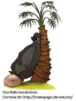 Caricatura de oso del Libro de la Selva