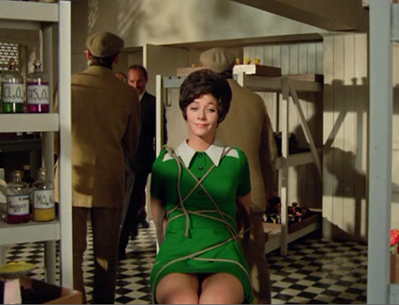 Retrospace foxy ladies 4 linda thorson linda was roundly thrashed by the press as being a poor substitute all looks and no brains a damsel in distress rather than a strong heroine thecheapjerseys Choice Image