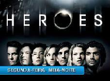 ''HEROES'' EM NOVO HORARIO