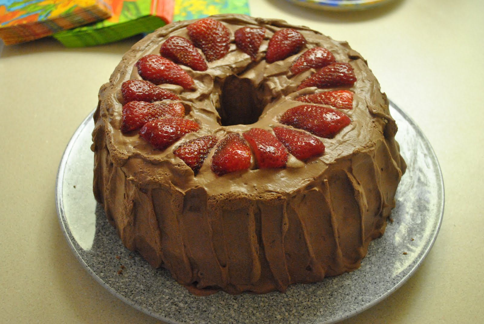 Kip's Recipes: Chocolate Angel Food Cake