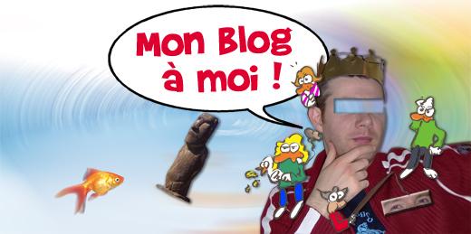 Mon blog à moi !