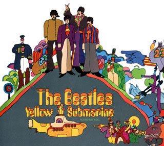 sárga tengeralattjáró