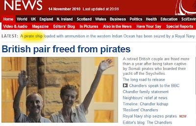brit pár kalózok