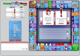 לוח משחק ה- MoneyPolyGame