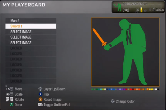Racist Call Of Duty: Black Ops Playercard Emblems 6