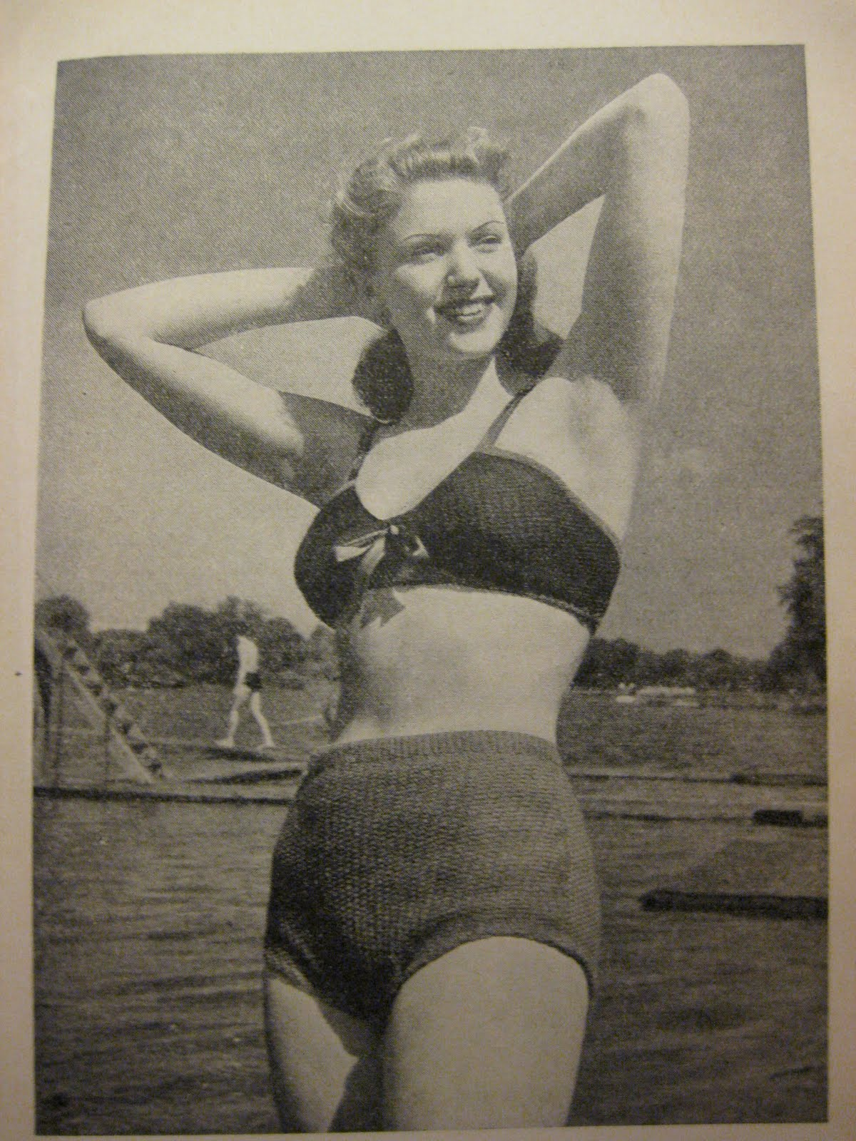 1930s bathing suits long hairstyles
