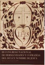 2008 - III CONGRESO NACIONAL DULCE NOMBRE