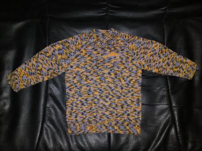 Strickmuster: Raglanpulli aus Mircofaser