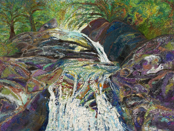 Waterfall At Home Creek