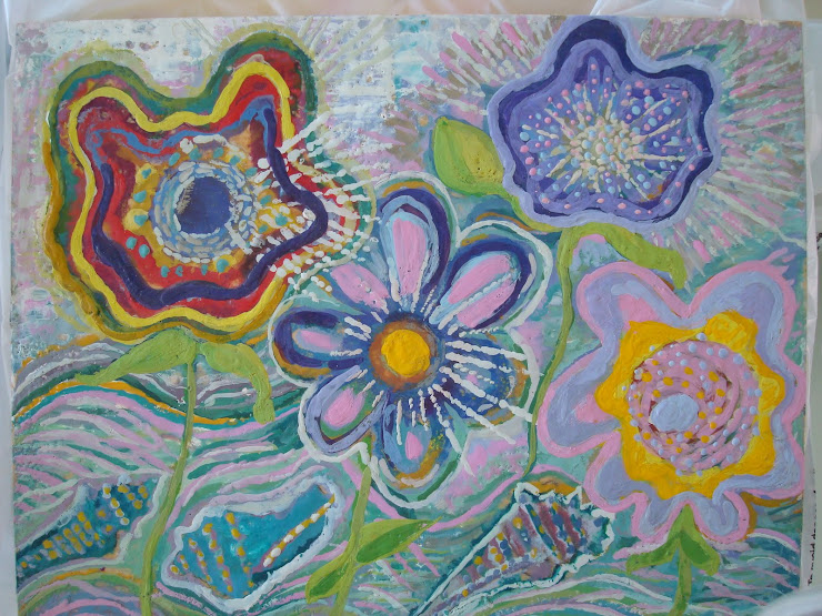 Encuastic Flowers & Shells