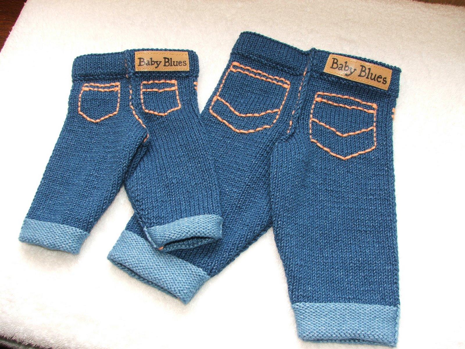 Вязание на спицах джинсы 508