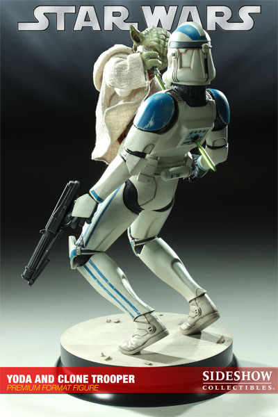 Stormtrooper Sideshow Yoda And Clone Trooper