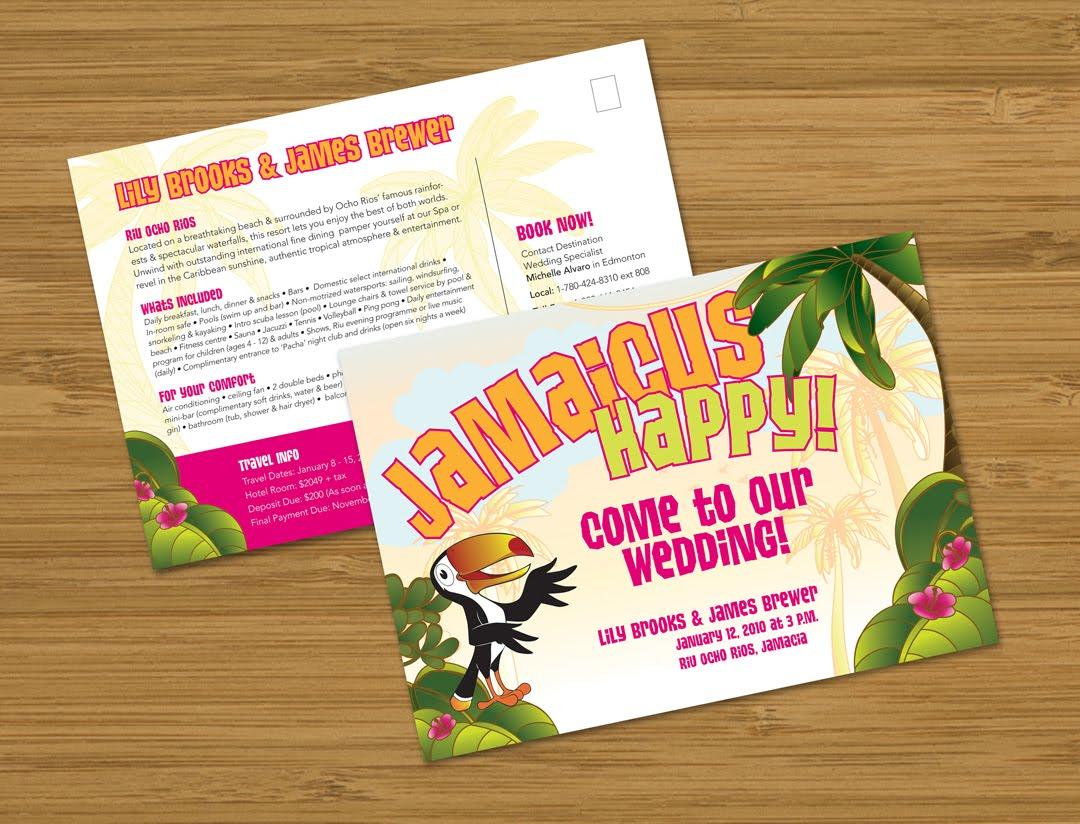 Perfect Jamaican Wedding Invitations Elaboration - Invitation Card ...