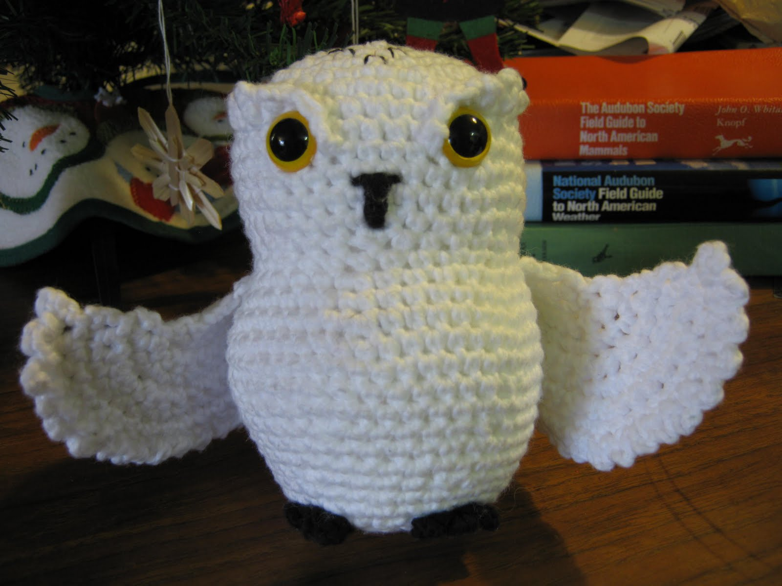 Crochet Pattern For Pikachu Doll : Ocean of Stitches: Bubo Owl Pattern