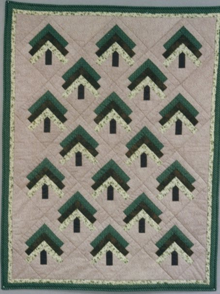 Quilts + Color: March 2010 : pine tree quilt - Adamdwight.com