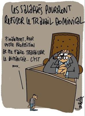 dimanche Sarkozy et le travail du dimanche... Une obsession ?
