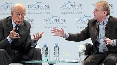 VGE+2 Un débat sur lEurope passionnant : VGE / Cohn-Bendit