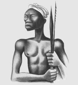 Con africanos no vale