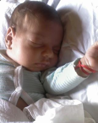 Ciro: Hoy cumplo mi primer mes de vida