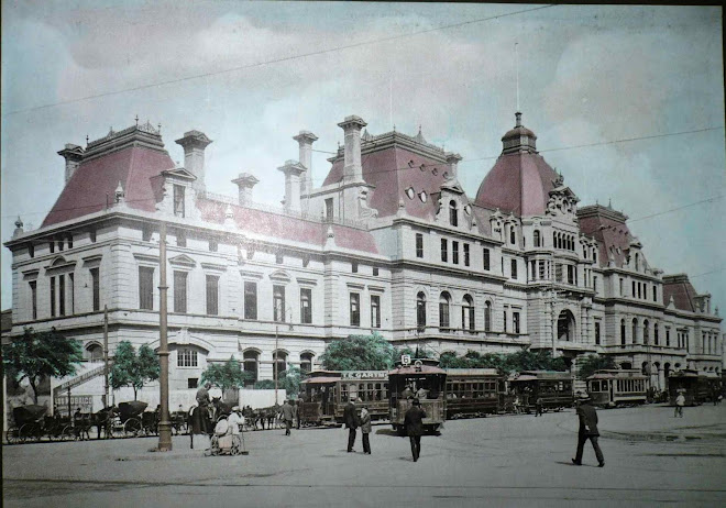 South Train Station in the 900's