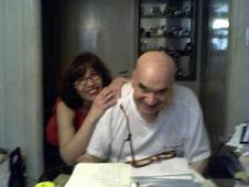 La linda Monica Brocq junto a su bellisimo jefe Ruben Distasio...