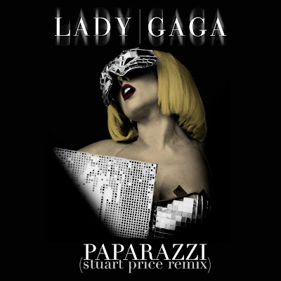 Lady GaGa: Paparazzi (Stuart Price Remix) (mbm fanart single cover)