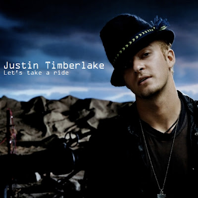 Justin Timberlake  Album on Just Cd Cover  Justin Timberlake  Let S Take A Ride  Mbm Single Cover