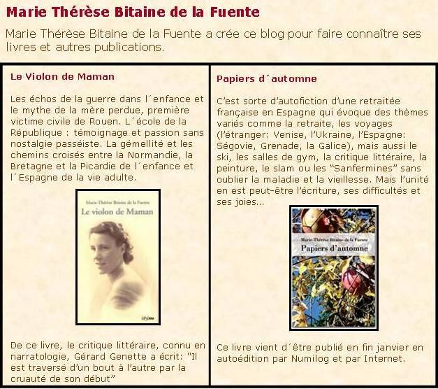 Marie-Thérèse Bitaine de la Fuente