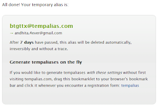 membuat Email temporary