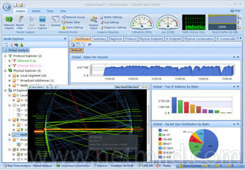 capsa free screenshot Pantau Network anda dengan capsa Network Analyzer