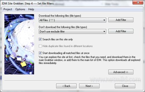 Set file Cara simpan website offline browsing dengan IDM