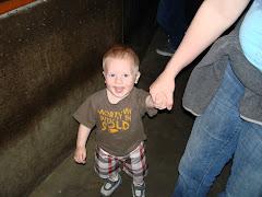 Josh at the Aquarium